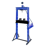 12T HYDRAULIC SHOP PRESS WITH GAUGE