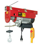 Electric Cable Hoist with single phase motor, IP54 110V~60Hz  WT-550/1100B, WT-750/1500B and WT-1000
