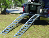 680kgs Arched Aluminum Ramp -Tube Rungs Style